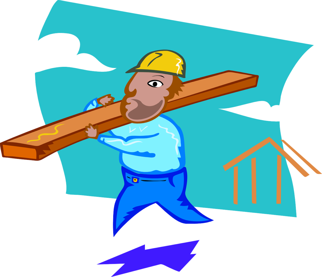 Cartoon-style Carpenter